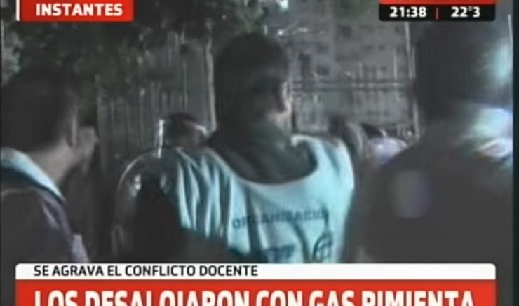 Foto: Captura Crónica TV.