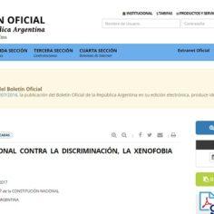 Prorrogan la intervención del INADI por otros 180 días