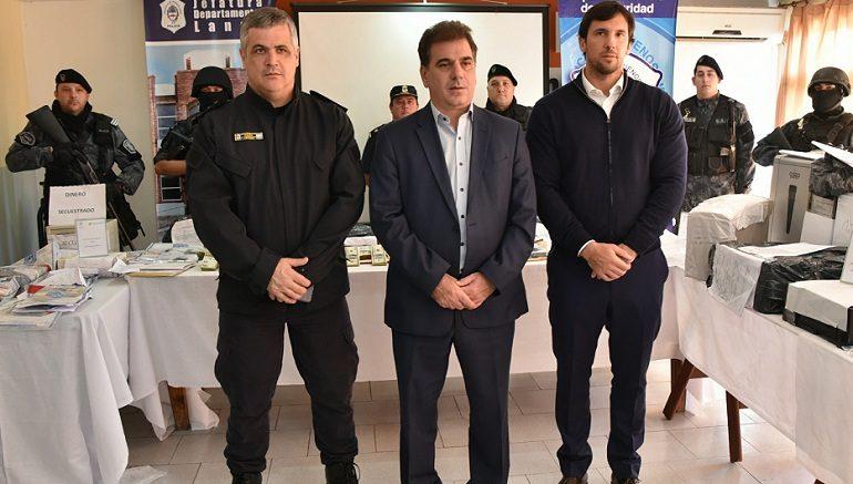 Foto: Ministerio de Seguridad de la Provincia de Buenos Aires