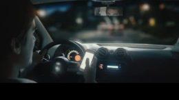 """Foto: Captura spot """"El celular al volante mata"""""""