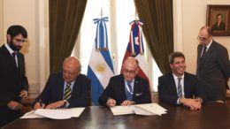 Foto: Prensa Cancillería Argentina
