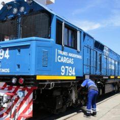 Suman 20 nuevas locomotoras al Belgrano Cargas