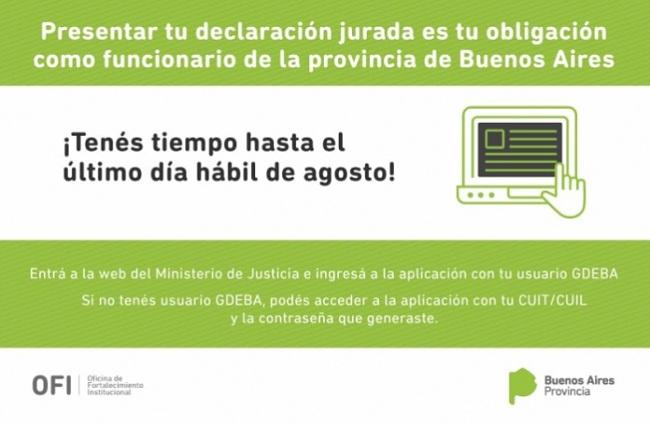 Foto: Ministerio de Justicia de la Provincia de Buenos Aires