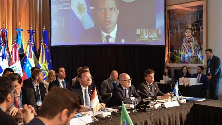 Foto: Cancillería Argentina