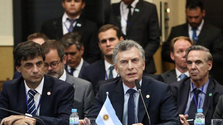 Foto: Twitter Presidente Mauricio Macri