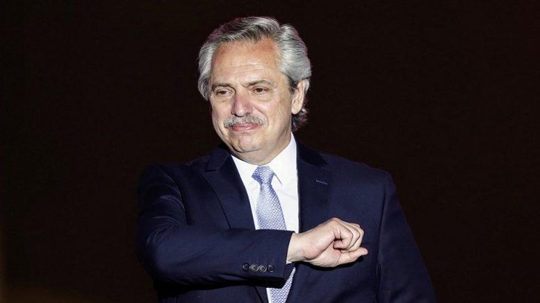 Foto: Twitter Presidente Alberto Fernández