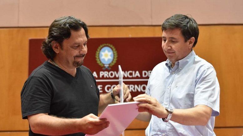Foto: Twitter Gobernador Gustavo Sáenz