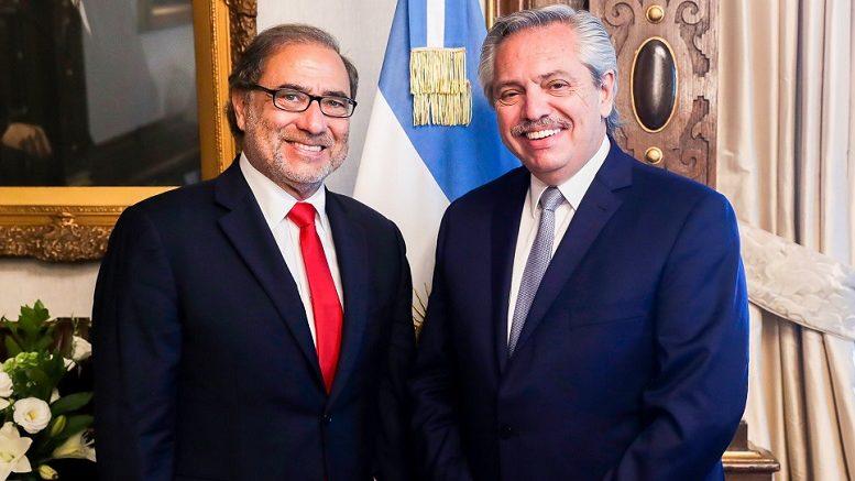 Foto: Twitter Jorge Argüello