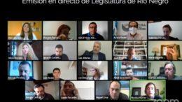 Foto: Twitter Legislatura Río Negro