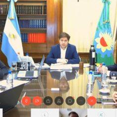 Kicillof presentó una serie de medidas para los sectores productivos