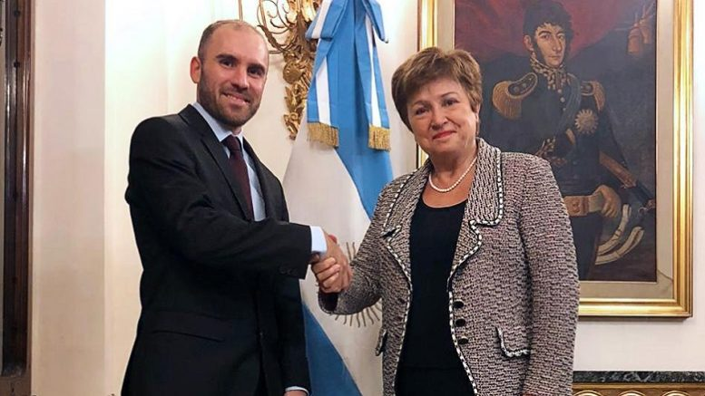Foto: Twitter Martín Guzmán