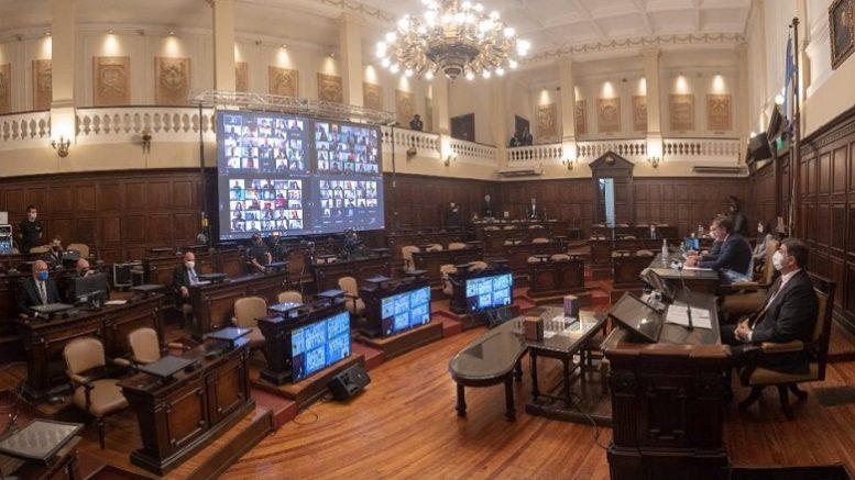 Foto: Twitter Legislatura Mendoza
