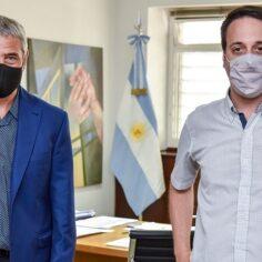 Ferraresi se reunió con el titular de la Federación de Inquilinos Nacional